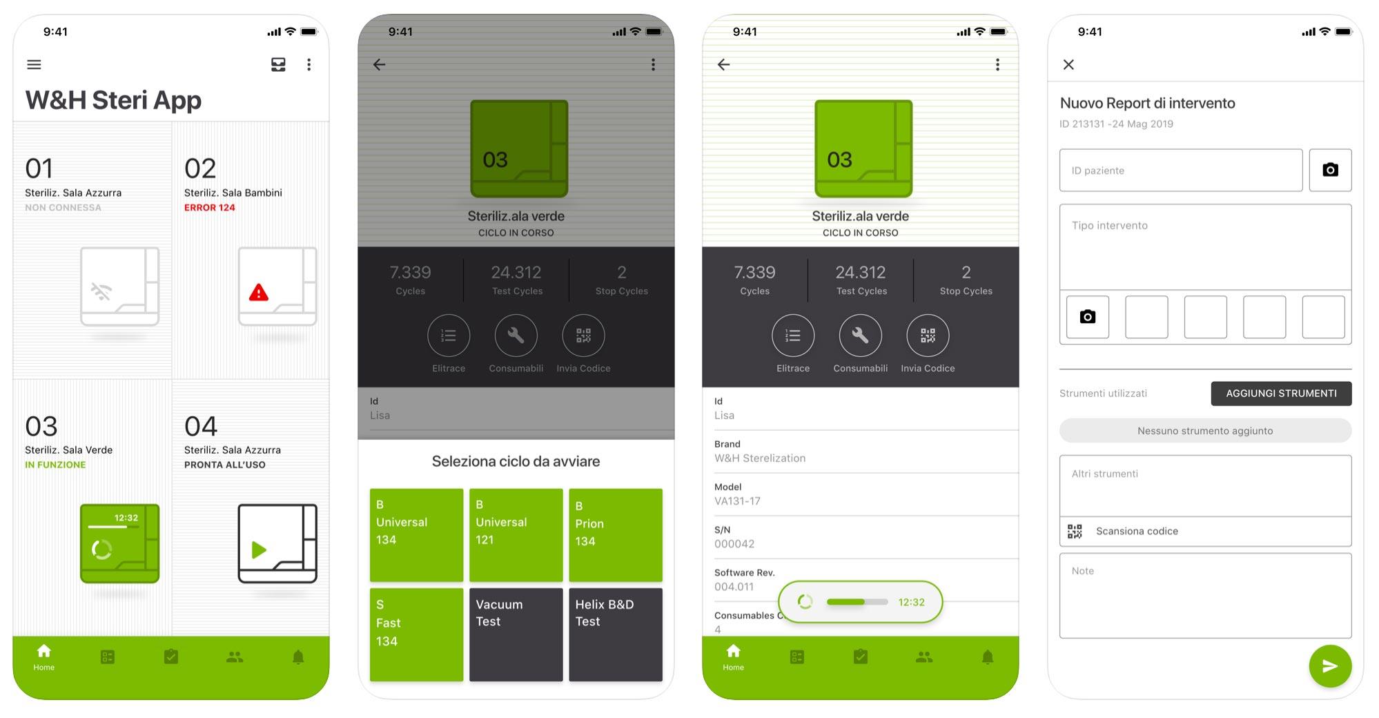Steri App iphone