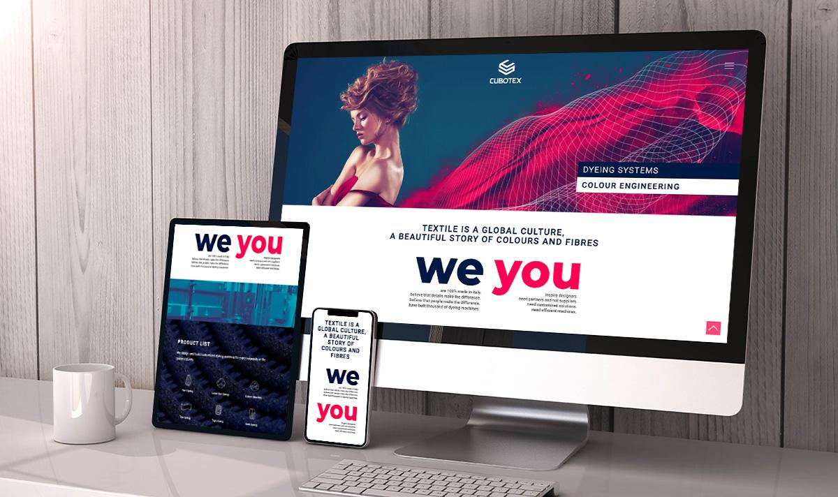 Cubotex website